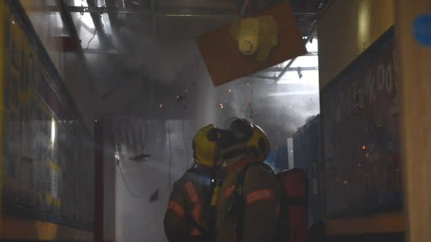 Foster care: Cromwell High School fire